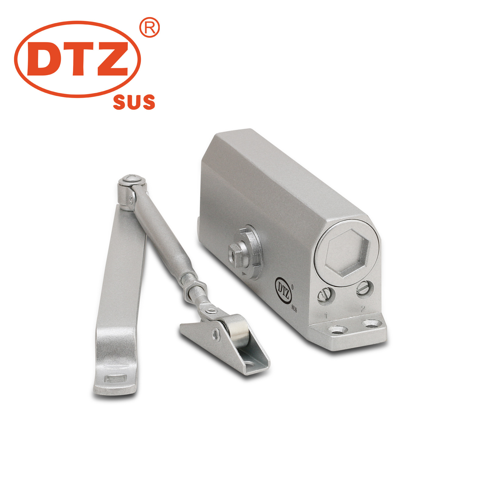 Wholesale Buffer Hydraulic Aluminium Alloy Self-Motion Door Closers DTZ-061