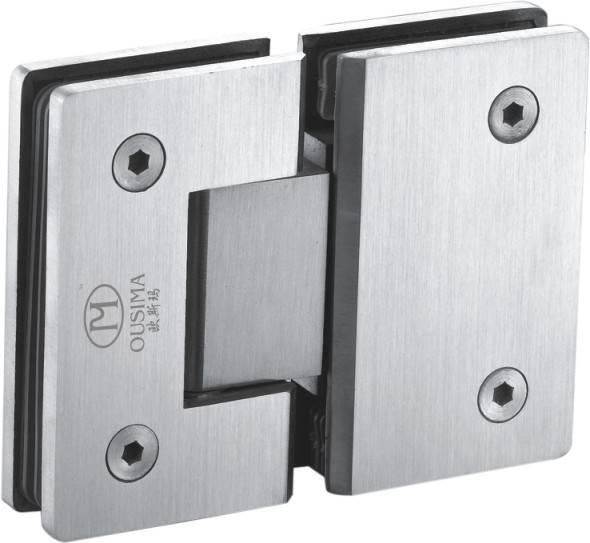 stianless steel 180degree  shower hinge