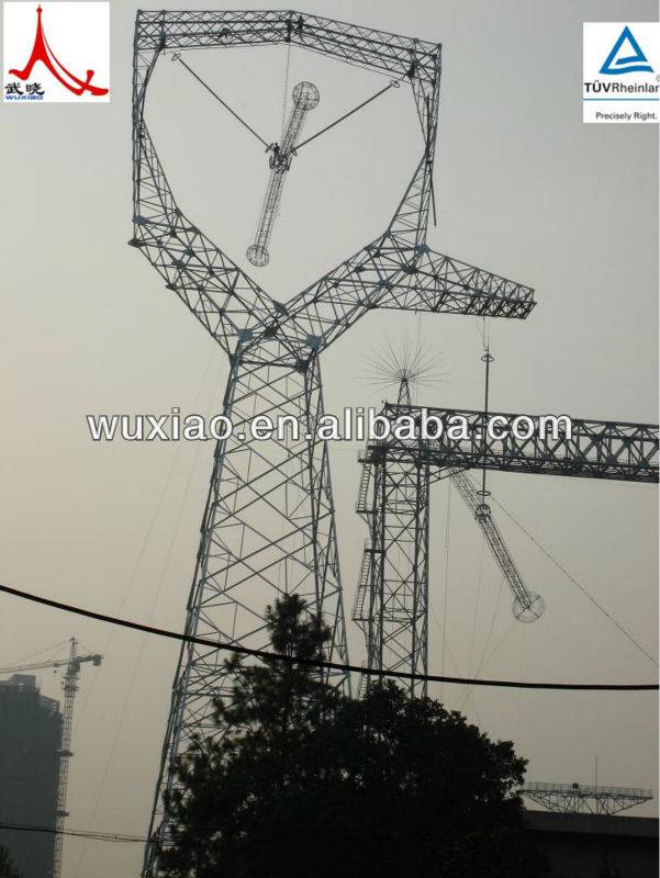 Transmission lattice tower