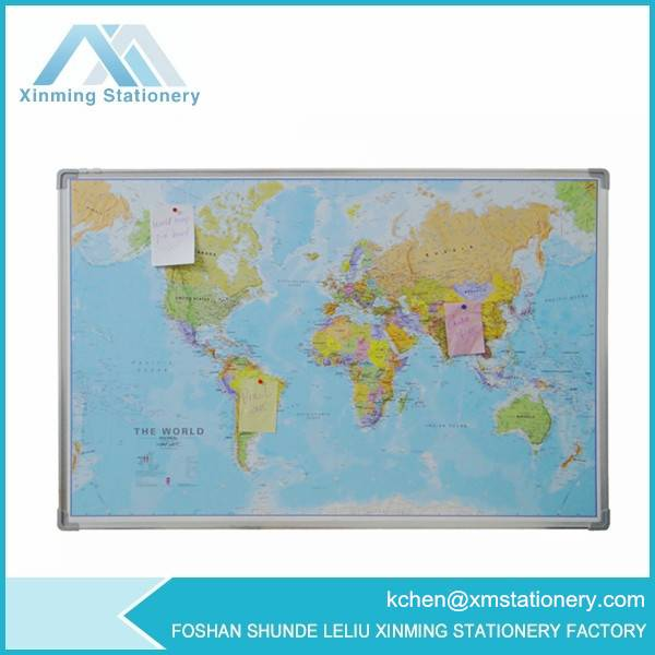 felt pin board world map wall world map
