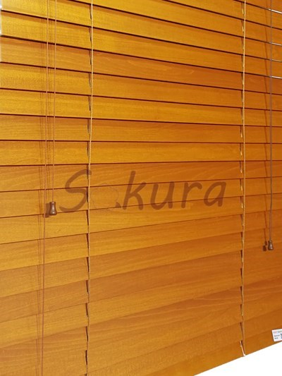 WOOD SLATS FOR WOODEN VENETIAN BLIND