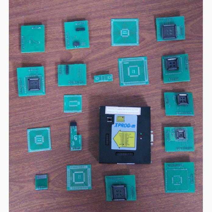 XPROG-M Full (with 18 adaptors)
