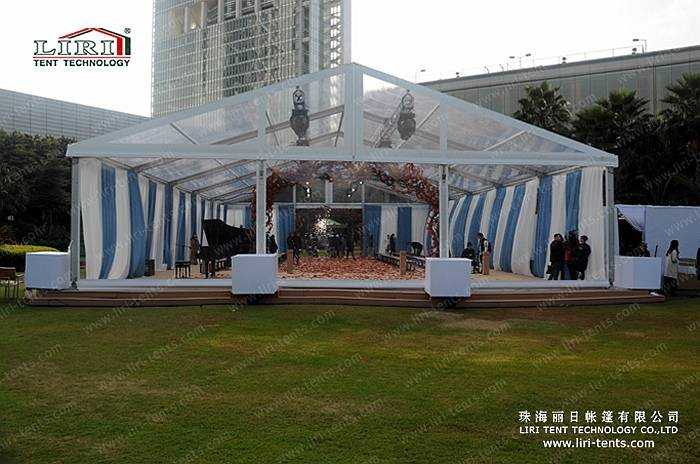 350 Seater Transparent Event Party Marquee Tent Supplier