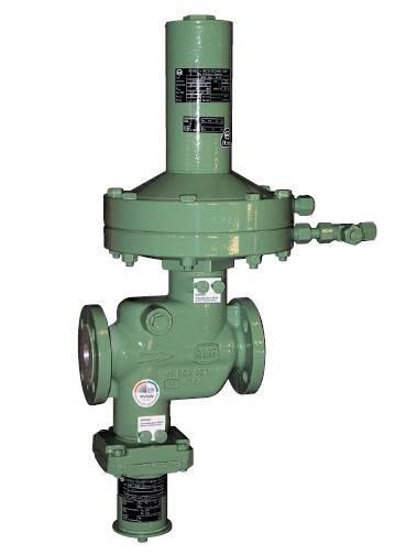 German RMG gas regulator