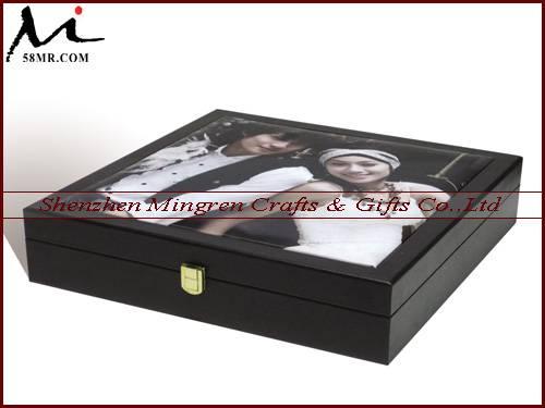 Leather Album Suitcase,Wooden Album Suitcase,Wedding Album Suitcase,Elegant Album Suitcases,Album Br