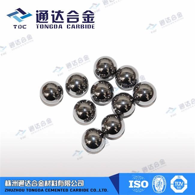 tungsten carbide ball/ball valve/carbide sphere