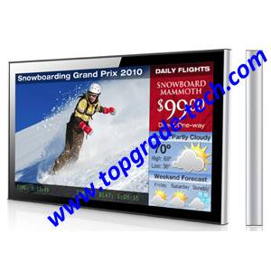 LCD advertising player, advertisement screens  (TP42A-WL)