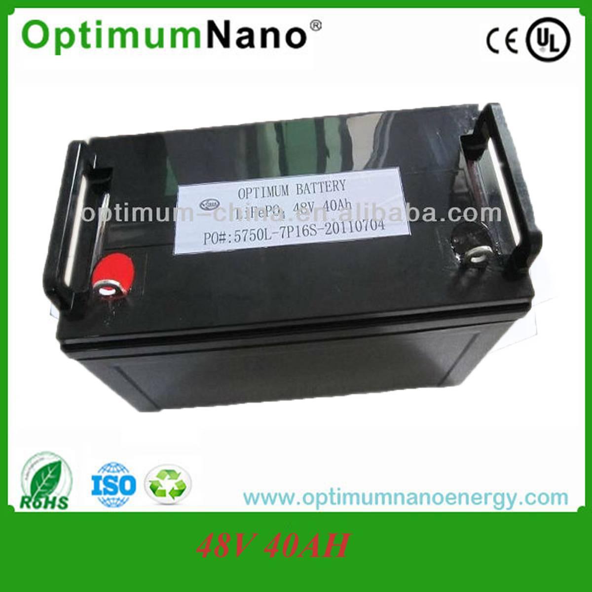 48v 40ah lifepo4 battery for solar system