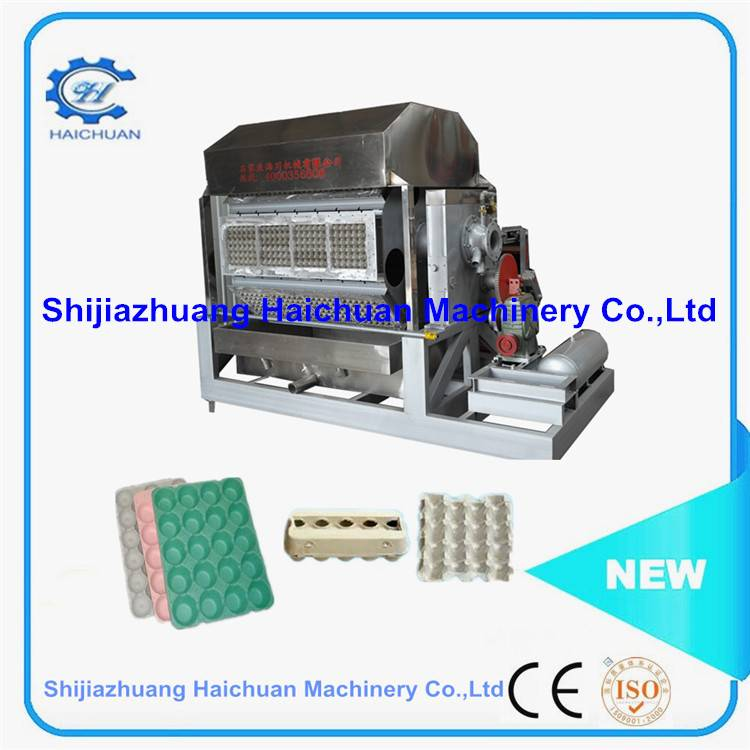 reciprocating egg tray forming machine medium capacity egg tray machine