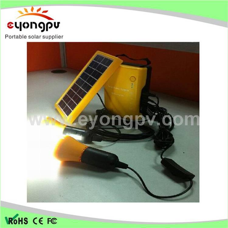 13 wMini portable solar power system