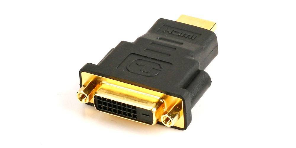 HDMI To DVI Connector