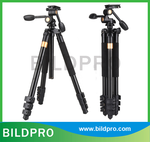 180cm Height Heavy Duty Video Tripod Camcorder Stand with 32mm Aluminum Leg
