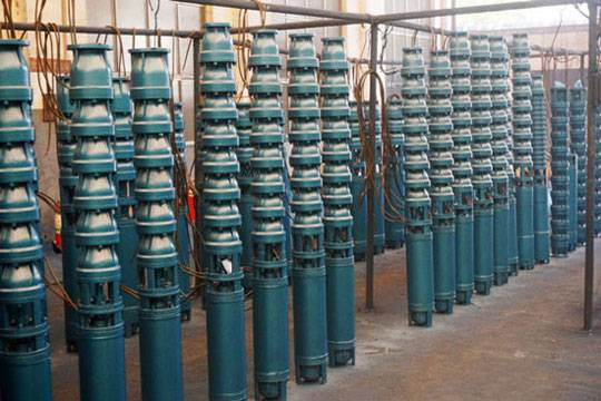 QJ submersible water well pump