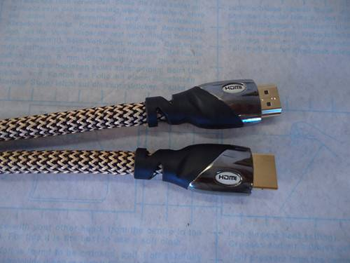 full HD HDMI cable gold plated