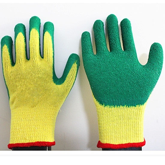 Cheap Latex Coated Gloves made in China