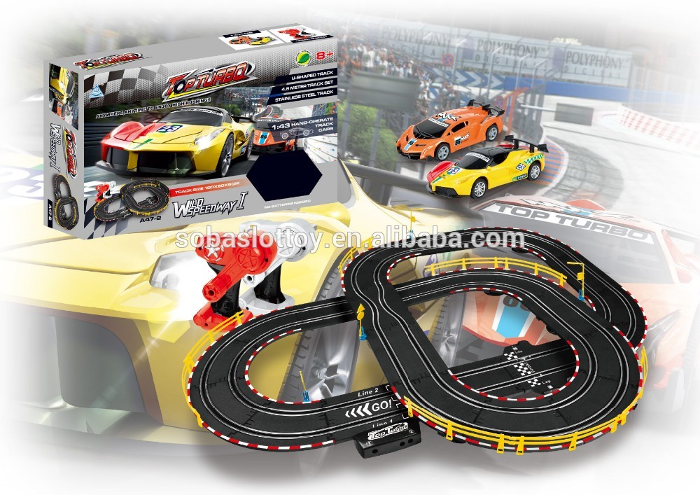 Soba 460CM 1:43 High speed slot car racing set