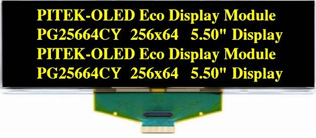 Graphic OLED Display Module PG25664CY/G