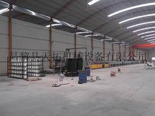 FRP lighting sheet making machine