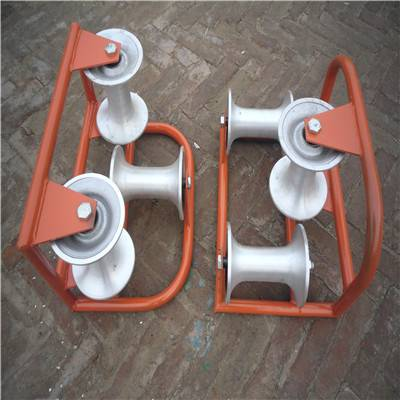 Electric cable pulling toll pulley rope roller/door roller pulley