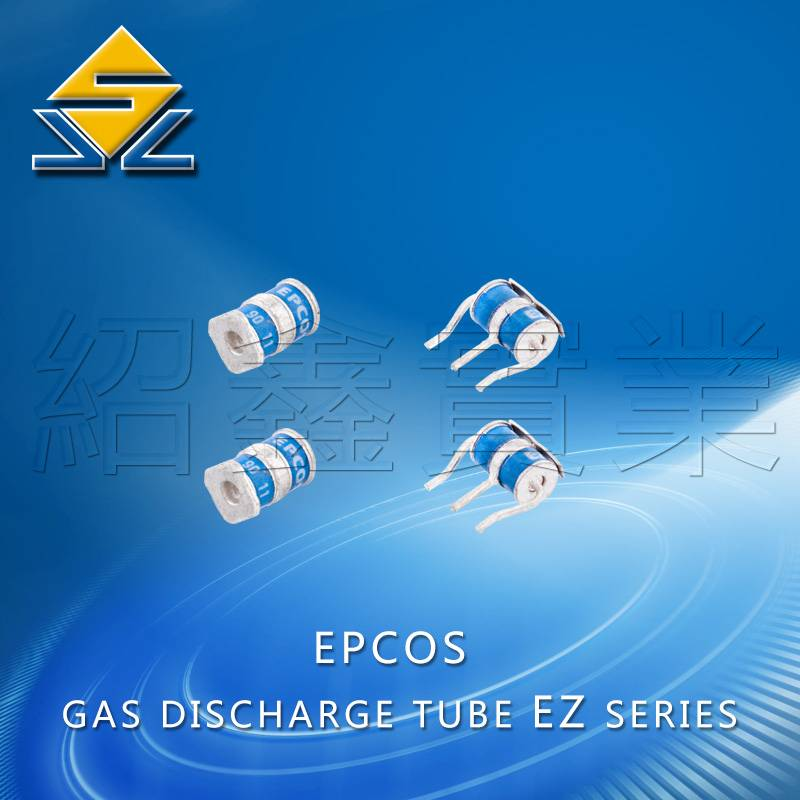 3-pole ceramic gas tubes 5KA/10KA EZ series