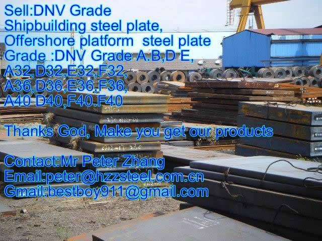 Sell :Shipbuilding steel plate,Grade,DNV/A36,NV/D36,NV/E36,NV/F36 steel plate/sheets/Material/Spec/A