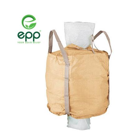 EPP Circular type low cost PP woven big bag for sand, coal, fertilizer SWL 500kg 1000kg PP woven bag