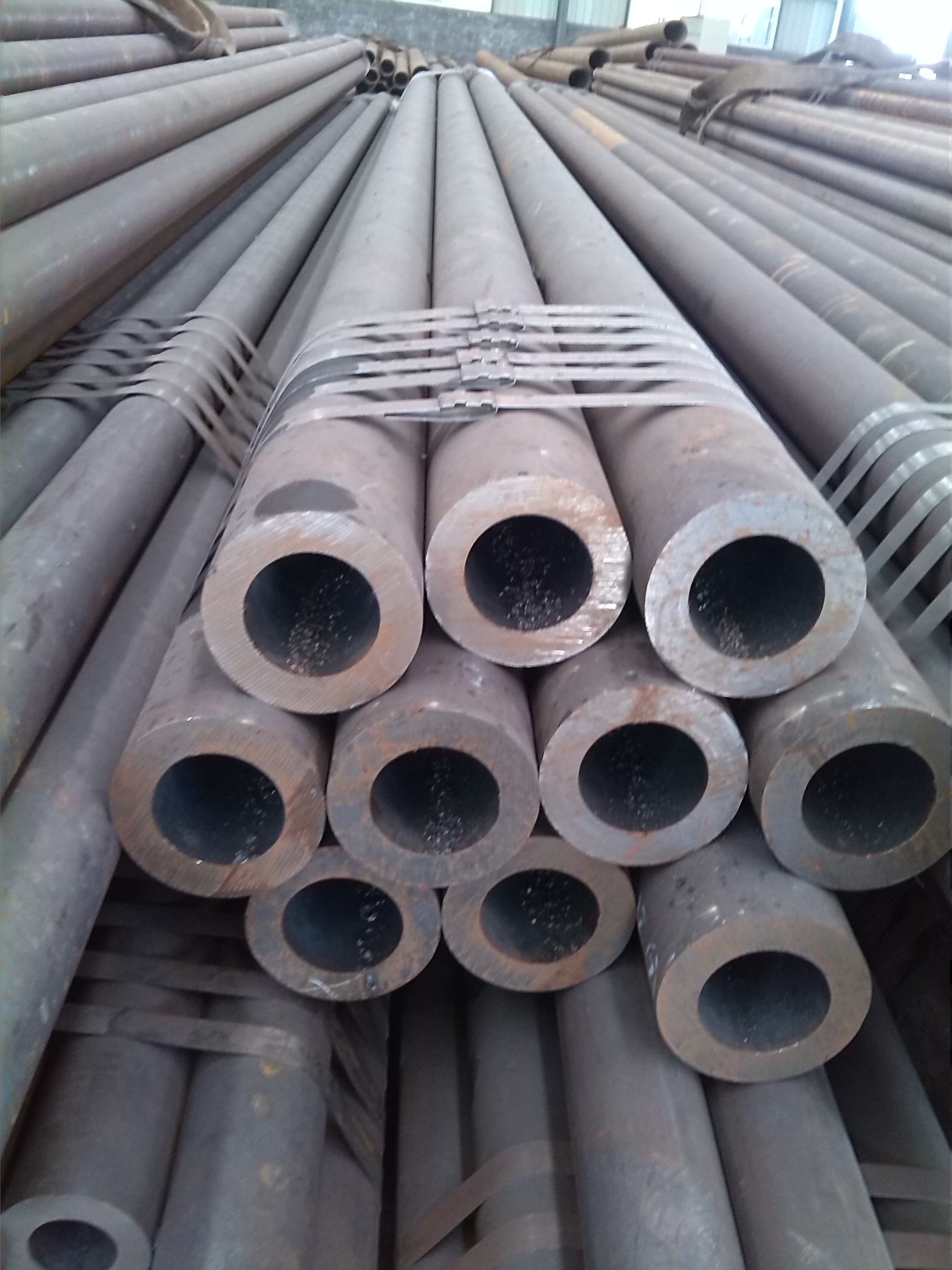 A106 GR.B S20C hot rolled round pipe / hollow seamless pipe S20C S45C S35C
