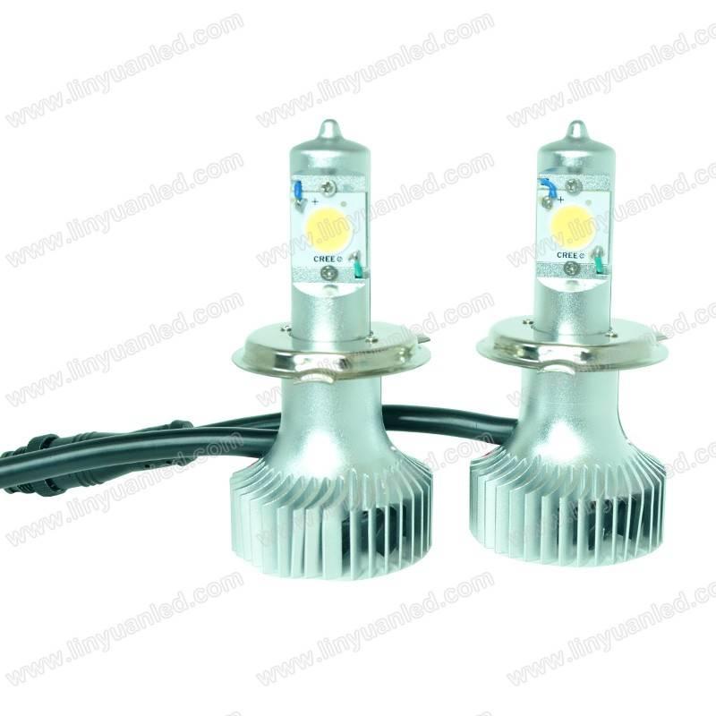 High Brightness LED Auto Headlight (H4-38W COB)