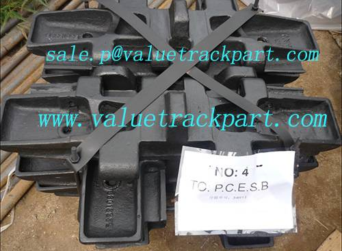 Crawler Crane Nippon Sharyo DHP80 Undercarriage Parts Track Shoe Assembly
