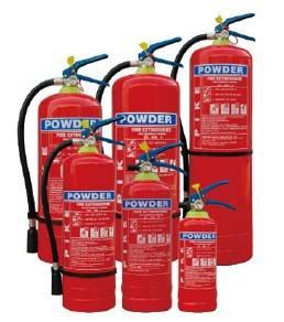EN3 Portable Powder Fire Extinguisher