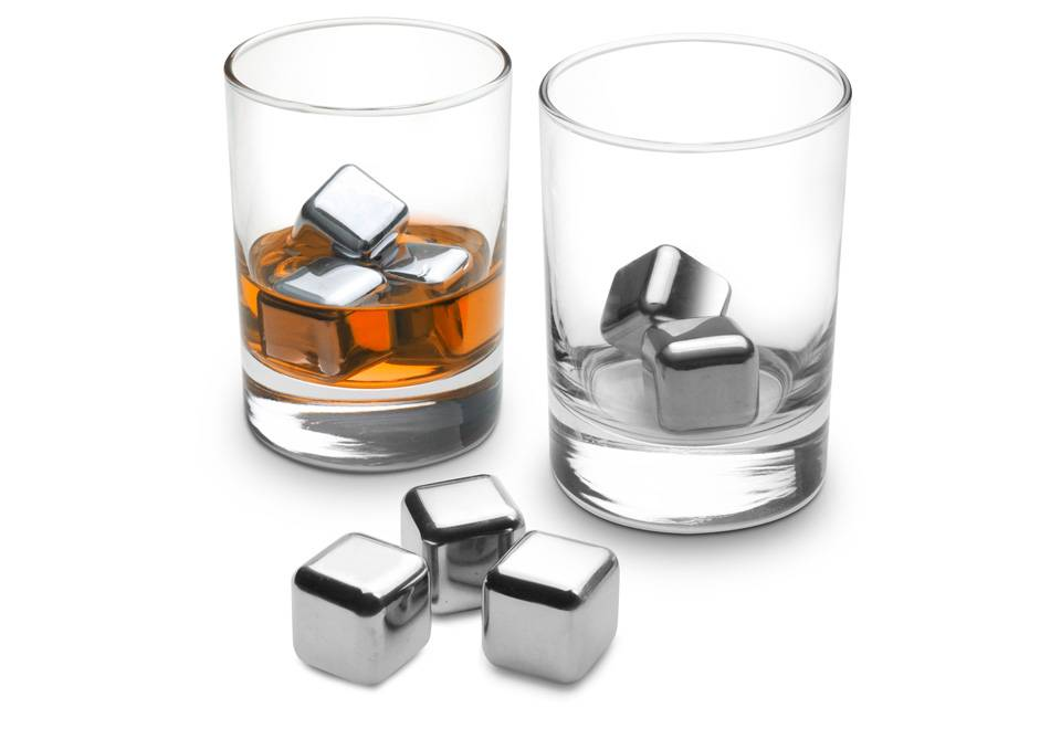 Stainless Steel Ice Cubes, Whiskey Cubes, Stainless Steel Chiller Cubes