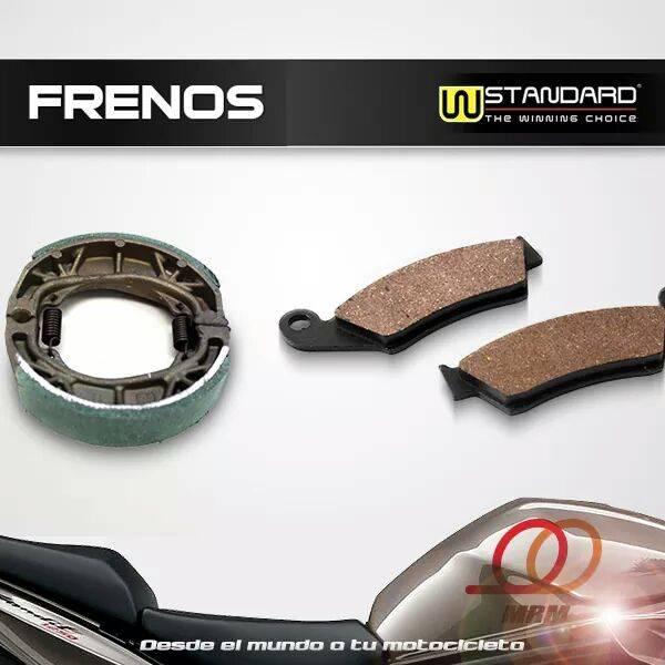 brake shoe and pad