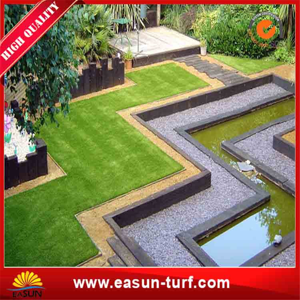 Low prices garden decoration landscape artificial turf grass and landscape synthetic grass-ML