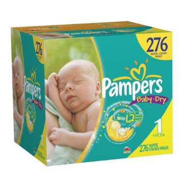 Diapers PAMPERS New Baby, Active Baby Mini, Nr. 2, 3-6 kg, GP, 108 pcs
