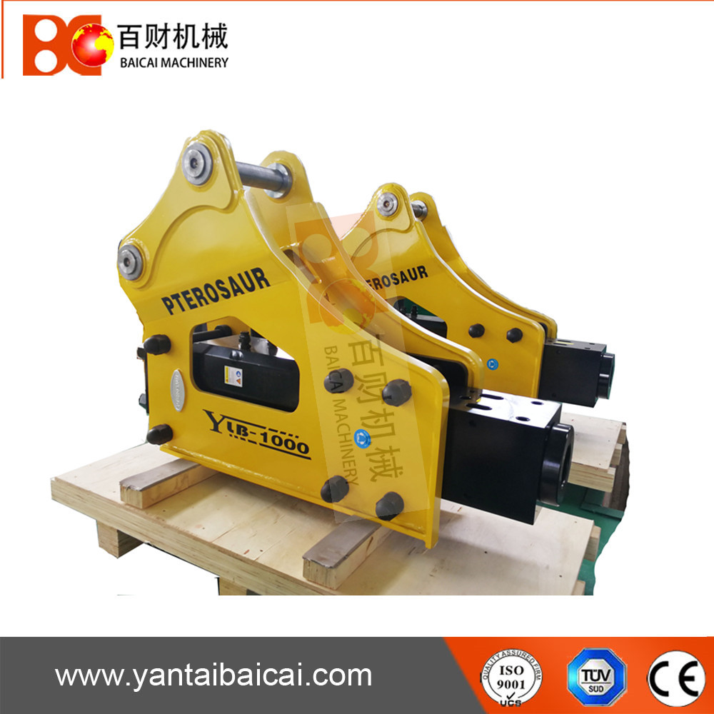 Side type excavator hydraulic rock breaker hammer for sale
