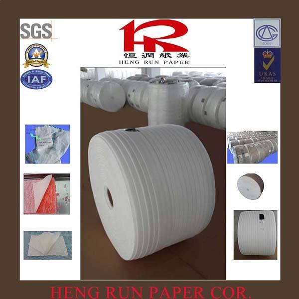 Composite absorbent paper