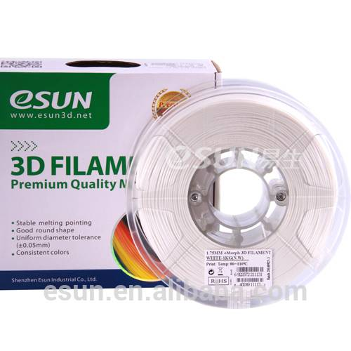 eSUN eMorph filament for 3D printer