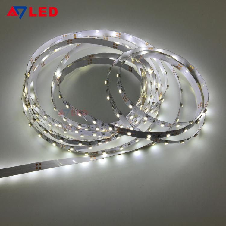 Adled Light 5m per roll dc 12v 24v smd 3528 60leds flexible led strip for makeup showcase