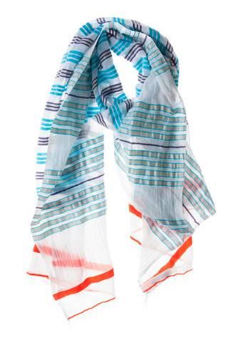 Lightweight Vibrant Betty Split Scarf/Wrap