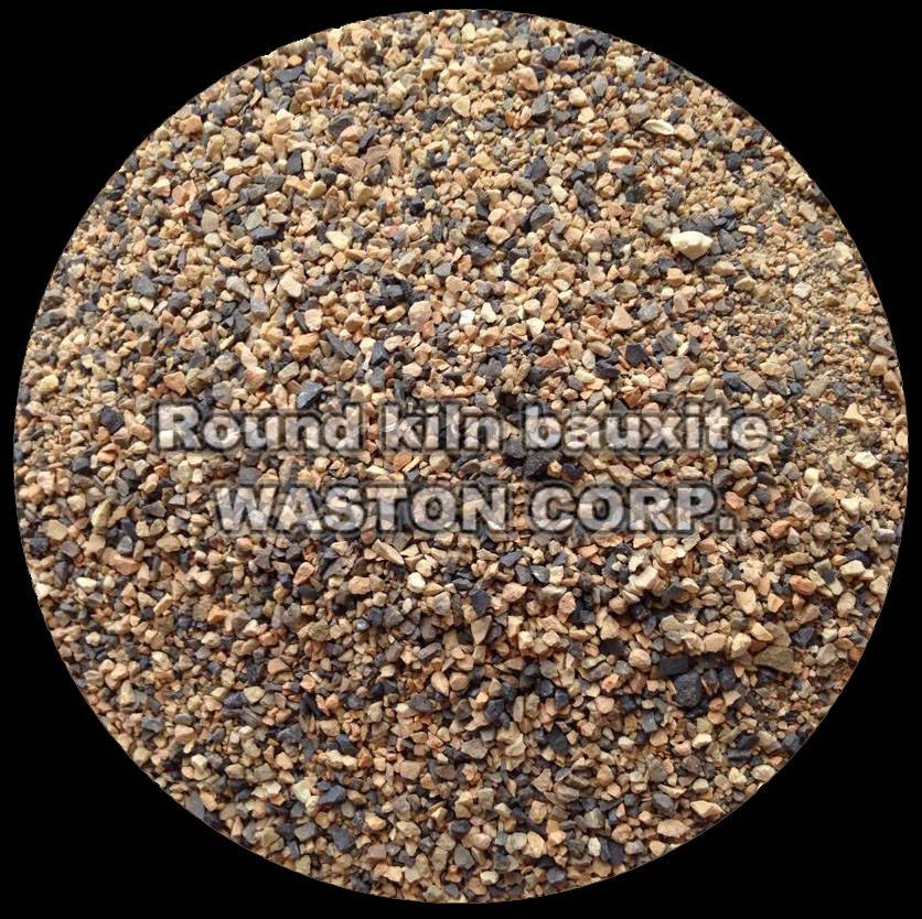 Round kiln bauxite