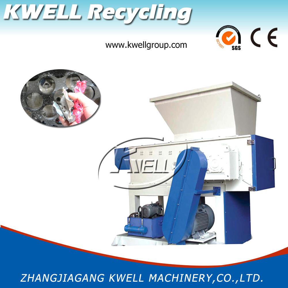 Single Shaft Waste Plastic Shredder/Wood Shredder/Grinding Machine