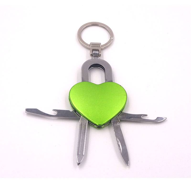 hotsale multifucntion key chains with LED light