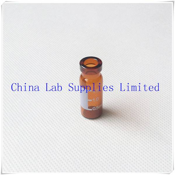 made in china top quality Glass amber bottles for GC analysis V1145