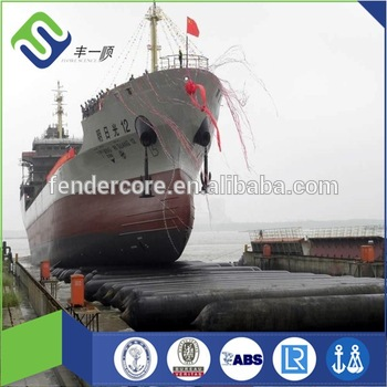 Florescence ISO14409 inflatable and portable ship salvage airbag