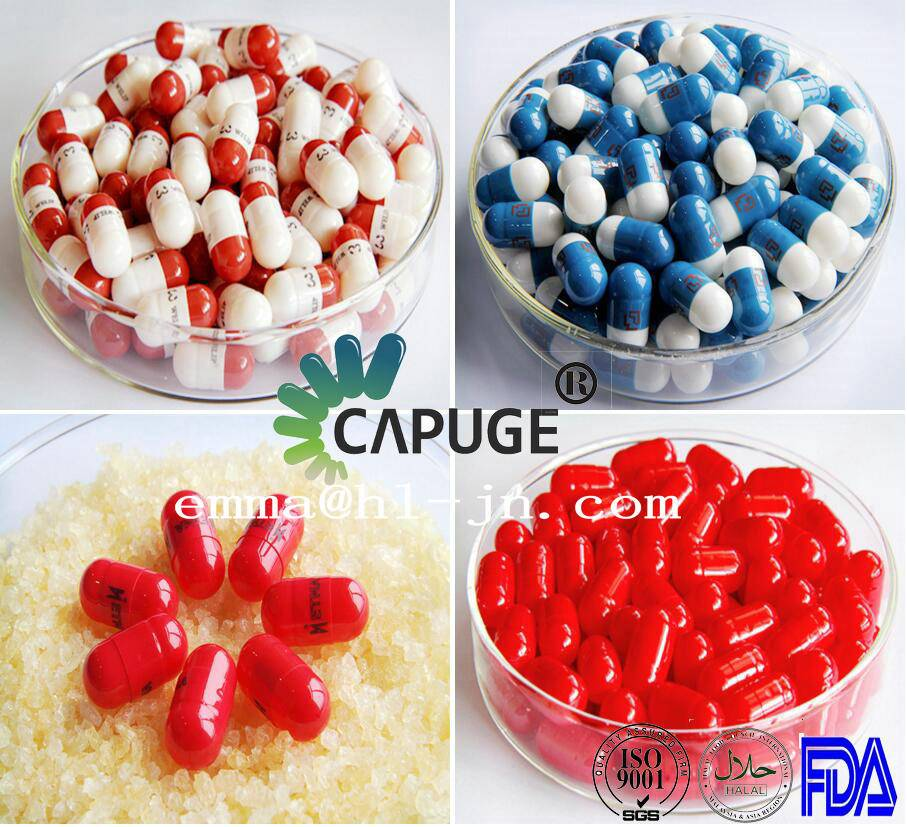 00#B Hard Gelatin Capsule Shells Safety Two-piece Colored
