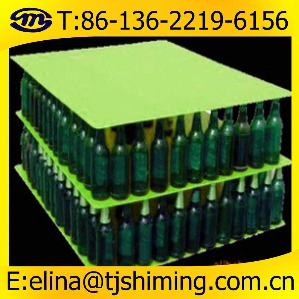 1000x 1200mm Glass Bottles PP Layer Pads, PP coroplast divider for glass bottle
