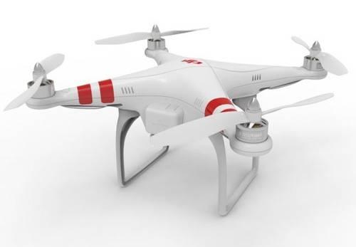 DJI Phantom Unmanned Aerial Vehicle UAV Drone Quadcopter