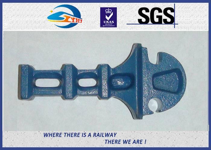 ZhongYue Oxide Black Cast Iron 8.8 Grade Railway Shoulder for UIC DIN Standard Steel Rail