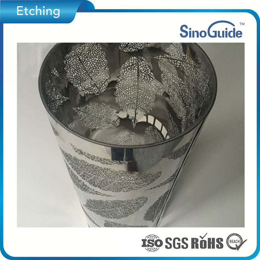 Customerized Photo Chemical Etched Stainless Steel Lampshade
