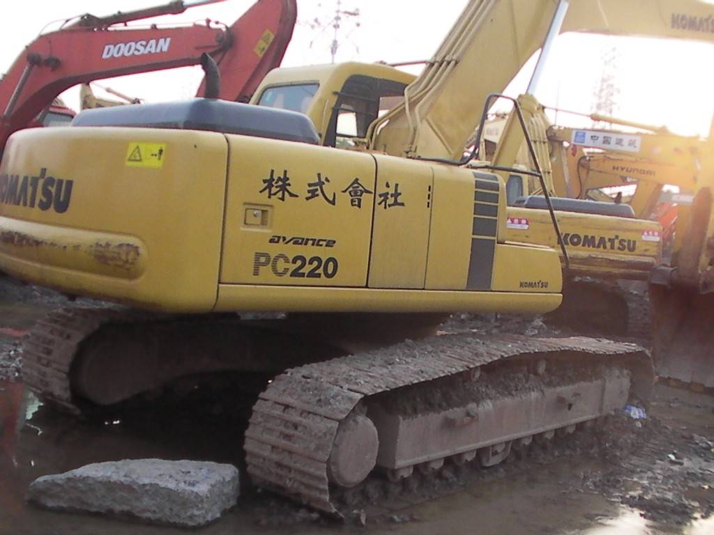Used Komatsu Excavators for sale